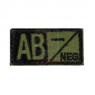 CONDOR Bloodtype Patch AB NEG