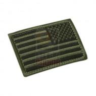 CONDOR 230R REVERSED USA Flag Velcro Patch (6 Pcs)