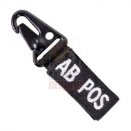 CONDOR 239AB+ Blood Type Key Chain AB+ (4 Pcs)