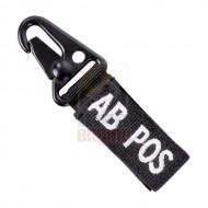CONDOR 239AB+ Blood Type Key Chain AB+