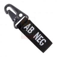 CONDOR 239AB- Blood Type Key Chain AB- (4 Pcs)