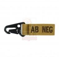 CONDOR Blood Type Key Chain AB NEG