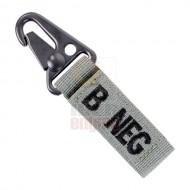 CONDOR 239B- Blood Type Key Chain B-