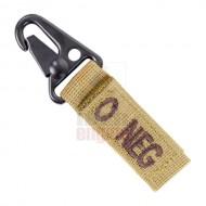 CONDOR 239O- Blood Type Key Chain O- (4 Pcs)