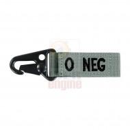 CONDOR Blood Type Key Chain O NEG