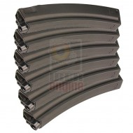 ICS MP-126 230 Rounds Metal Magazine (6 pcs)