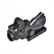AIM-O ACOG Style 4X32C Red Dot Illumination Source Fiber + RMR Sight
