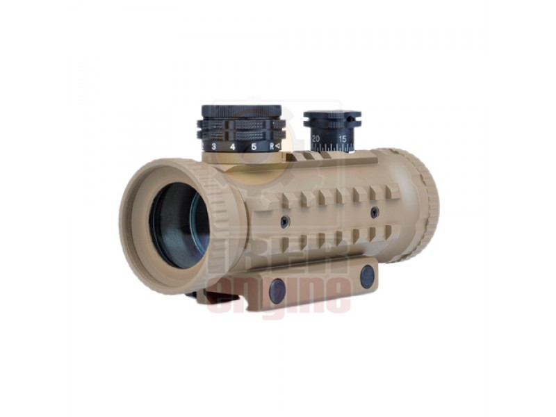 AIM-O 1X30 Red/Green Dot With RIS Rails