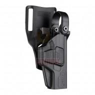 CYTAC CY-G17L3G3 Duty Holster Level III Gen3 - Glock 17
