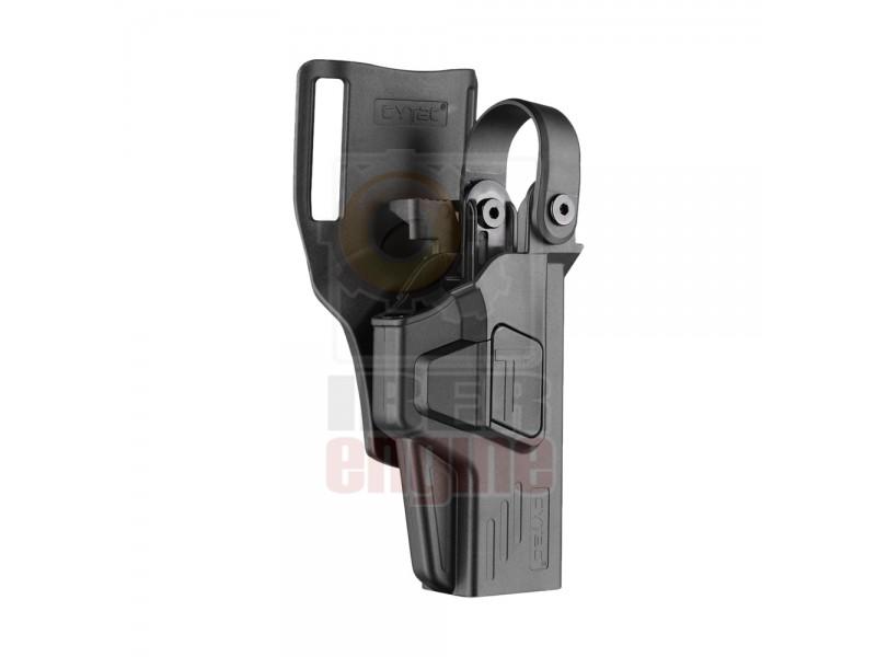 CYTAC CY-XDM40L3 Duty Holster Level III - XD-M 4.5'' full size .40SW