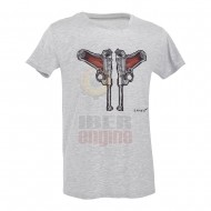 D.FIVE DF5-F61430-4 T-Shirt Luger Guns