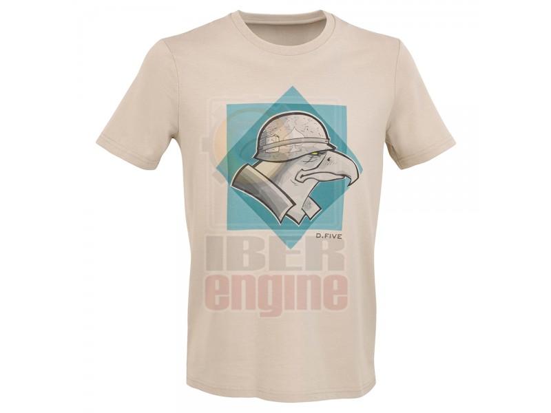 D.FIVE DF5-TFI02 T-Shirt Helmet Eagle