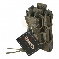 DRAGONPRO DP-PO009 Double Decker Mag Pouch