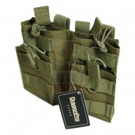 DRAGONPRO DP-PO016 Double Layer Double 5.56 Mag Pouch