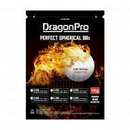DRAGONPRO DP-6N-020 Competition Grade BB 0.20g 1KG (ULTRA White)