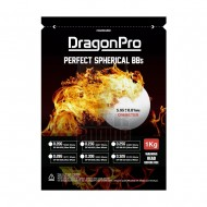 DRAGONPRO DP-6N-023 Competition Grade BB 0.23g 1KG (ULTRA White)