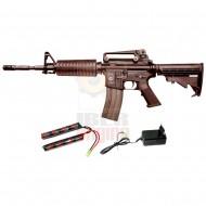 G&G GR16 Carbine Plastic BlowBack Combo EGR-16P-CAR-BBB-ECM
