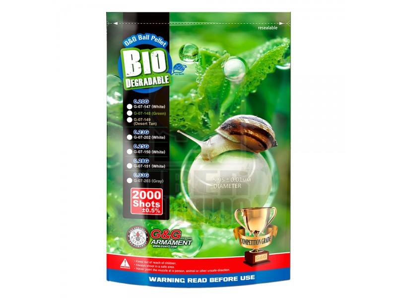G&G Bio BB 0.33g / 2000R (Gray) / G-07-203