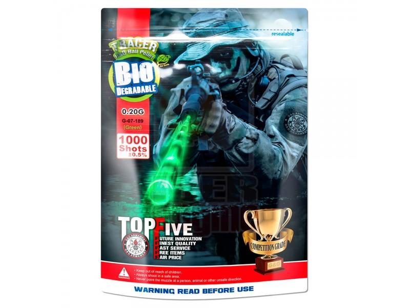 G&G Tracer Bio BB 0.20g / 1000R (Green) / G-07-189
