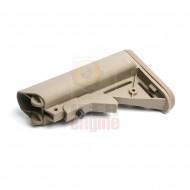 G&G Crane Stock for GR16 (QD Battery Type) Desert Tan / G-05-035-1