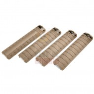 G&G Handguard Panel SET Desert Tan (4 Panels) / G-03-023-2