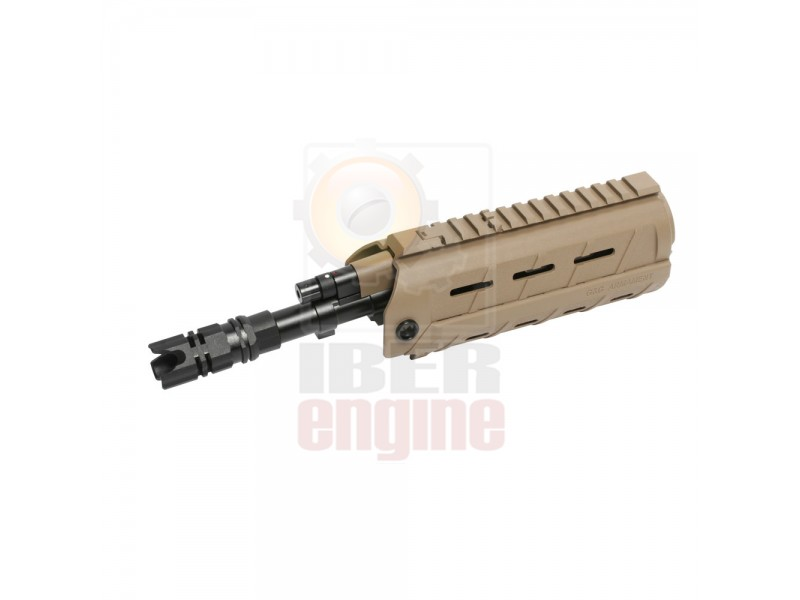 G&G G26 Laser & LED build-in Hand Guard Set (Tan) / G-12-016-1