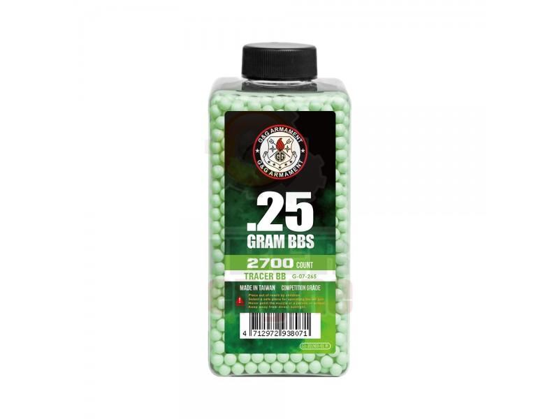 G&G G-07-265 Tracer BB 0.25g 2700R (Green)