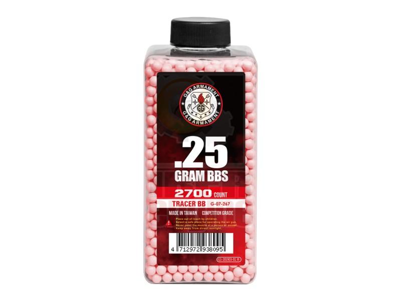 G&G G-07-267 Tracer BB 0.25g 2700R (Red)