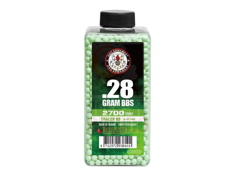 G&G G-07-268 Tracer BB 0.28g 2700R (Green)