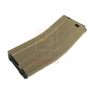 ICS MA-412 Metal Mid-Cap Magazine (120 Rounds) Tan