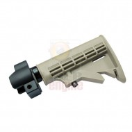 ICS MP-130 Tactical Stock (Tan) With Adapter Connect M4