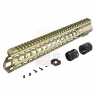 "ICS MA-380 YAK Keymod Handguard 15"" TAN"