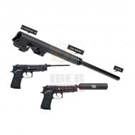 MADBULL 6.03mm Assassins Barrel Set 235mm SOCOMGEAR WE M9, M9A1