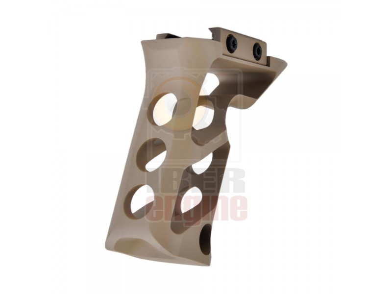 METAL CNC Picatinny System Long Angled Grip