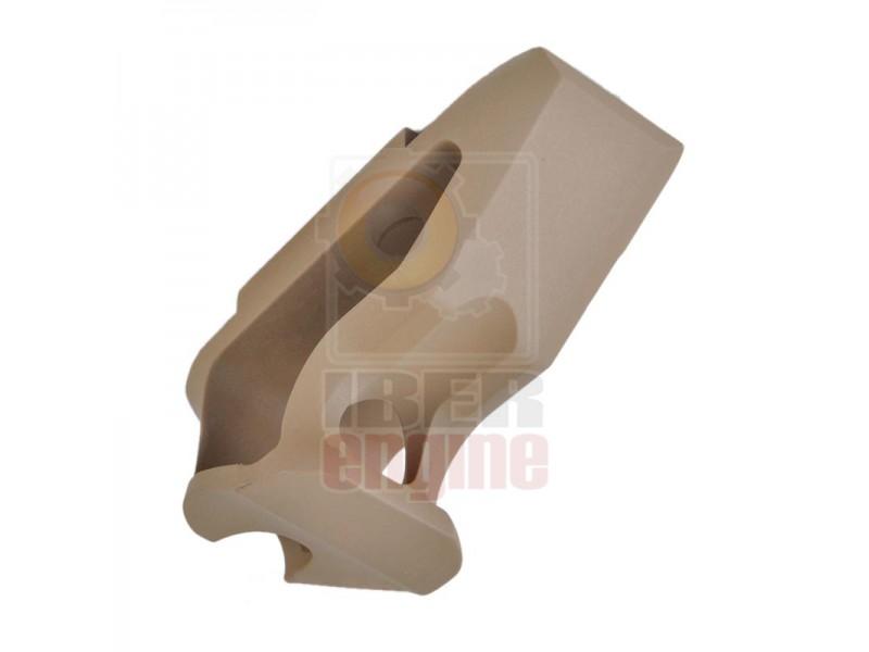METAL CNC Picatinny System Short Angled Grip