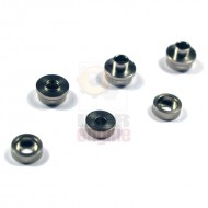 MODIFY Stainless Bushing for SMOOTH Modular Gear Set 7mm (6 pcs)