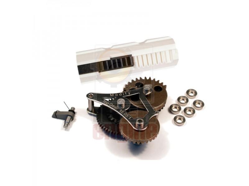 MODIFY Modular Gear Set 7mm Ver.2/3 (Top Gear 15.05:1) + Ultra Piston