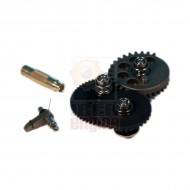 MODIFY Modular Gear Set-SMOOTH Marui Ver.2/3 (Torque 21.6:1)+Gear Key