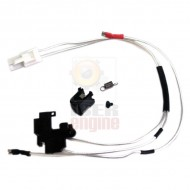 MODIFY Low Resistance Wire Set M4 Series (Back) Silver-Plated Cord