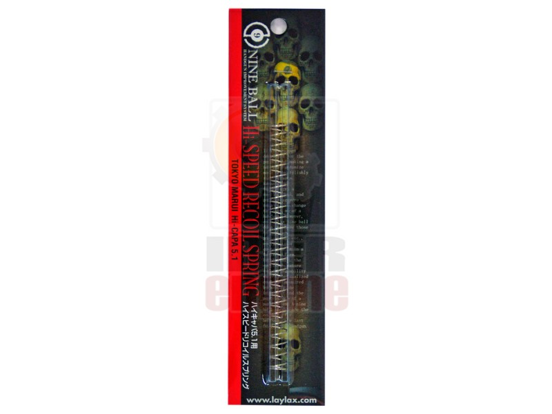 NINE BALL Hi-CAPA 5.1/4.3/M45A1 High Speed Recoil Spring