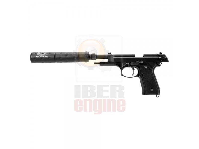 NINE BALL TM M92F GBB Silencer Attachment System NEO (14mm CCW)