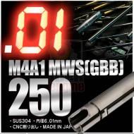 PDI 6.01mm Inner Barrel 250mm M4A1 MWS GBB