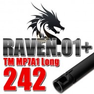 PDI 6.01mm Raven 01+ Inner Barrel 242mm MP7A1 AEG