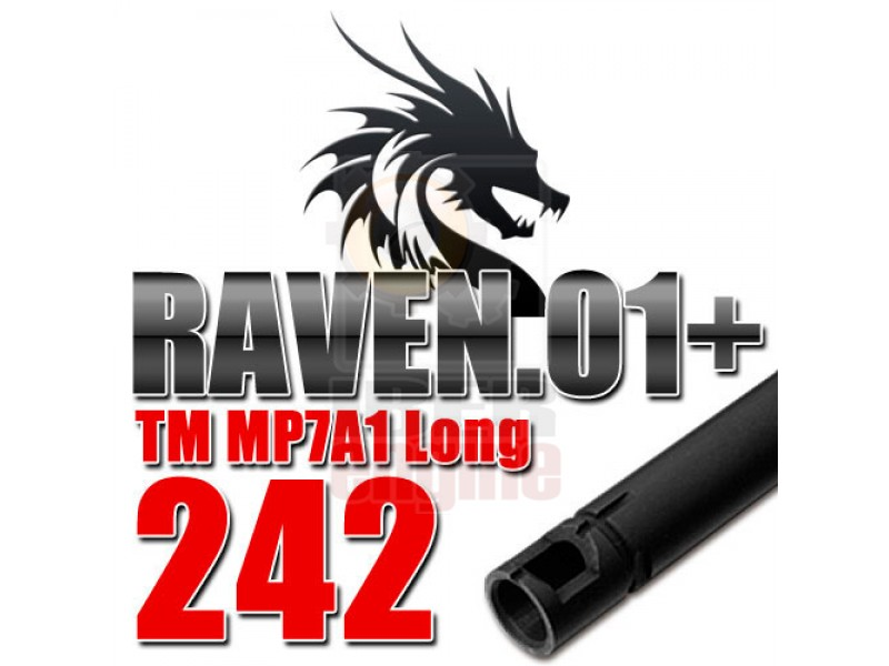 PDI 6.01mm Raven 01+ Inner Barrel 242mm MP7A1 AEG