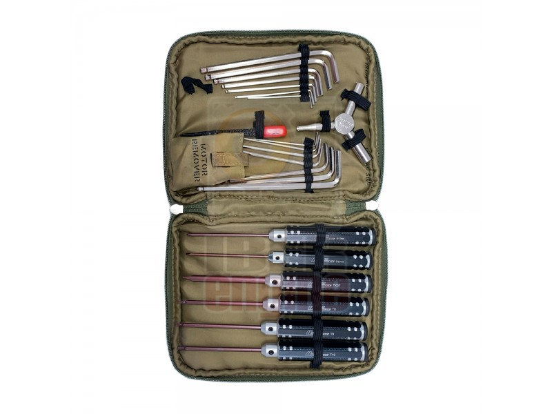 ULTRAFORCE Airsoft Tooling Kit (11 in 1)