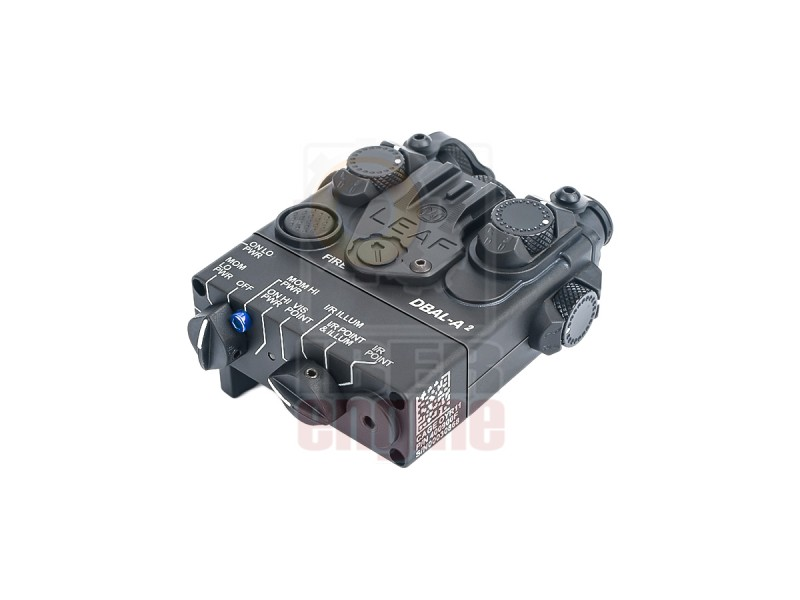 WADSN DBAL-A2 Aiming Device (Blue Laser + IR Laser + Flashlight)
