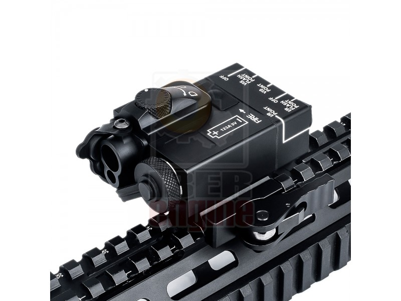WADSN DBAL-Mini Aiming Device (Red Laser + Green Laser)