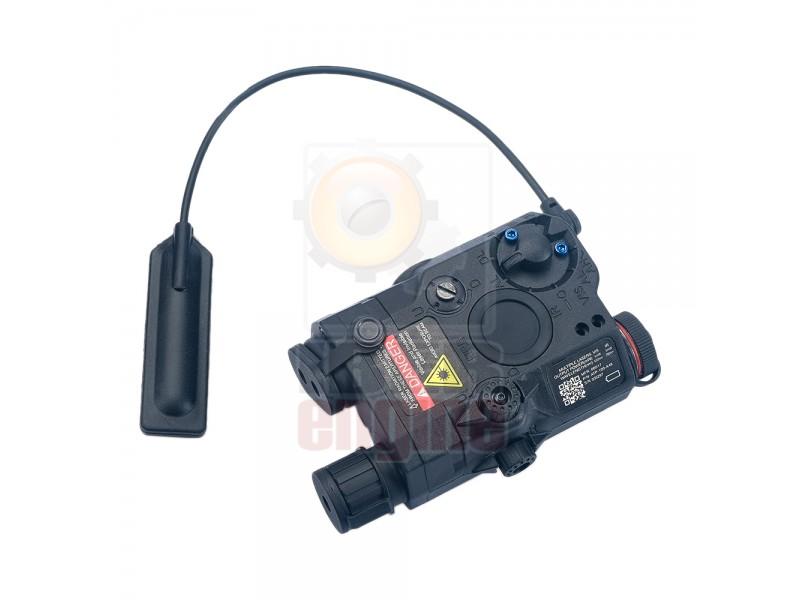 WADSN LA-5C PEQ15 (Blue Laser + Flashlight)