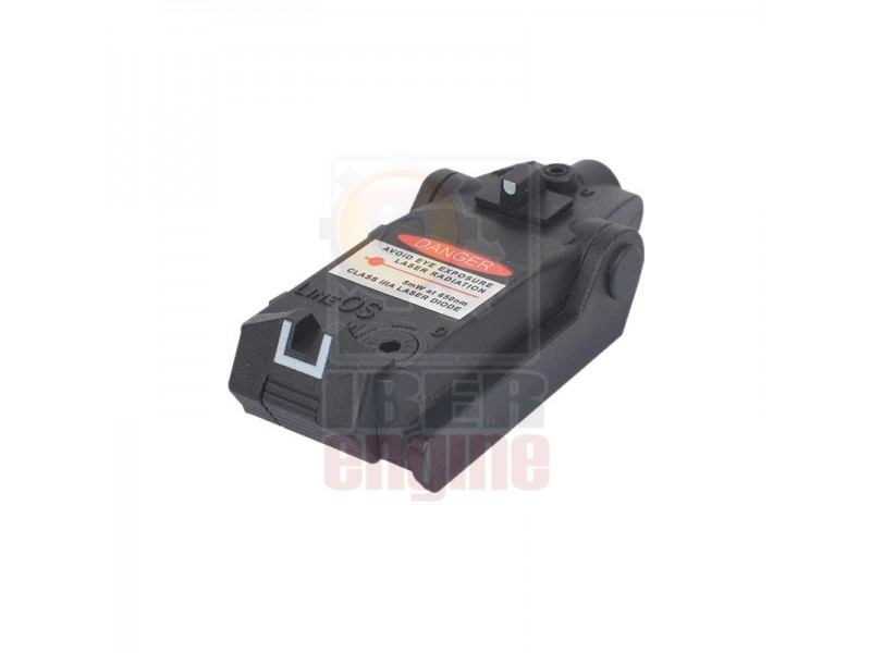 WADSN Tactical Compact Low Glock Red Laser Sight